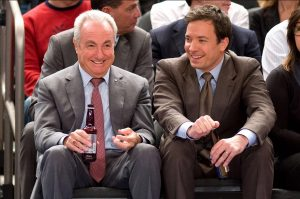 jimmy fallon and lorne michaels